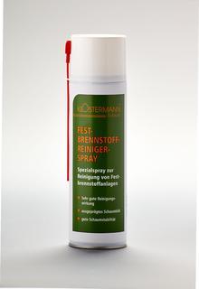 Festbrennstoffreiniger-Spray