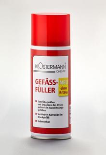 Gefäß-Füller (unbrennbar) ohne R134a